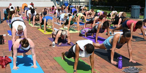 Free Summer Lakefront Yoga