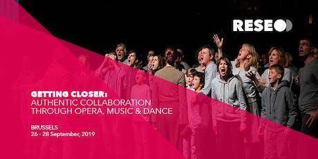 RESEO Conference 2019 biglietti
