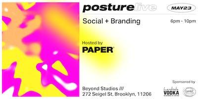 Posture Live: Social + Branding