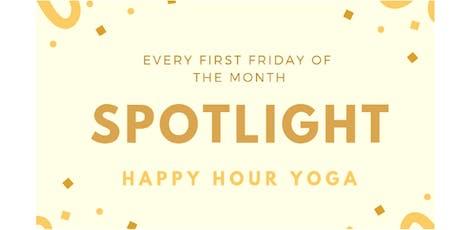 Spotlight Happy Hour Yoga tickets