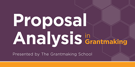 Proposal Analysis in Grantmaking