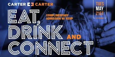 Eat, Drink, Connect Houston with The Carter Brothers