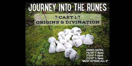 Journey Into The Runes- Cast 1 tickets