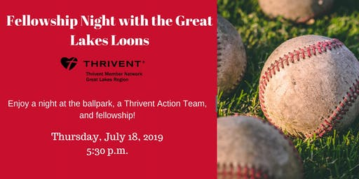 Fellowship Night with the Great Lakes Loons