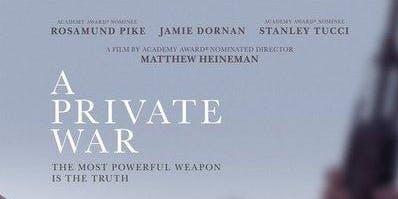 Movie Night: A Private War