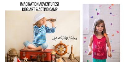 Kids Art and Acting Camp: In the World of Fairies and Gnomes!