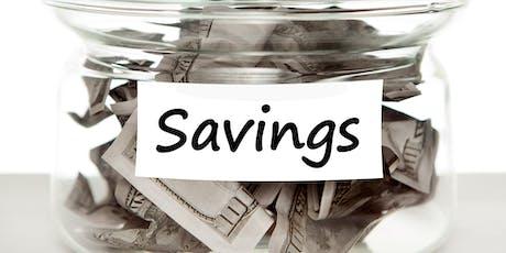 Sensible Savings Session, Web-ex #1 tickets