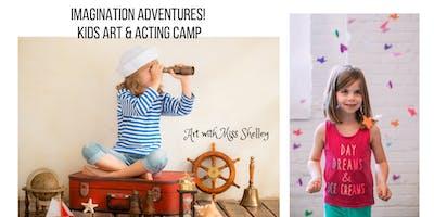 Kids Art and Acting Camp: Unicorns, Dragons, & Mermaids!