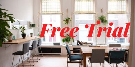 Wellness Coworking Space Free Trial tickets