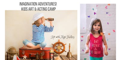 Kids Art and Acting Camp: Under the Sea!