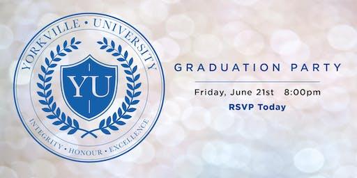 2019 Yorkville University Graduation Party