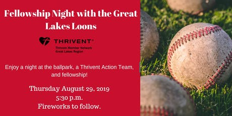 Fellowship Night with the Great Lakes Loons tickets