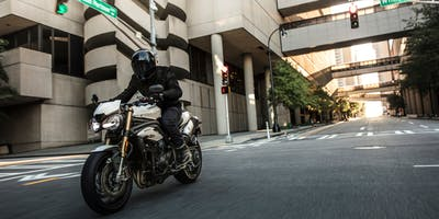 Triumph Speed Triple S Test Ride