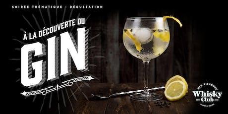 À la découverte du Gin billets
