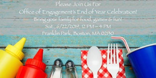 Office of Engagement's End of Year Celebration!