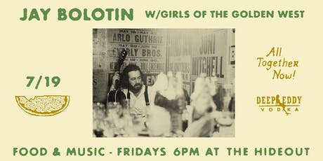 Jay Bolotin w/Girls of the Golden West | Picnics on the Porch tickets