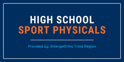 Sport Physical Clinic for High School Student-athletes