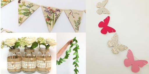 Crazy Crafty Chicks - Summer Garden Decorations