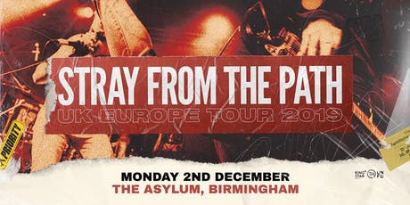 Stray From The Path tickets