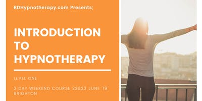 Introduction To Hypnotherapy - Level 1, Two Day Weekend Workshop Brighton