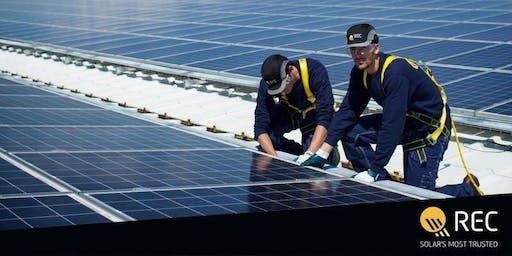 REC Certified Solar Professionals Training - KONA