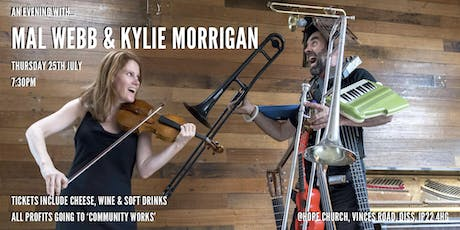 An Evening With Mal Webb & Kylie Morrigan tickets