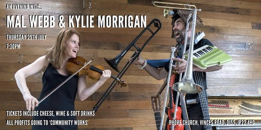 An Evening With Mal Webb & Kylie Morrigan