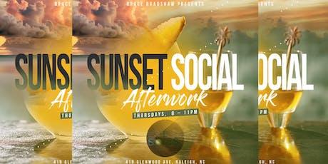 Sunset Social Afterwork tickets
