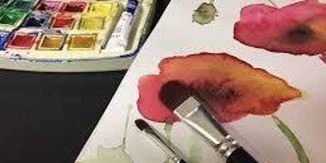 Water Color Painting Workshop (Adult & YA) 7/30 @ 6:00 PM tickets