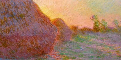 Discover The Color Of Shadows With Monet's Haystack tickets