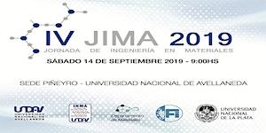 IV Jornada de Ingeniería en Materiales 2019 -...