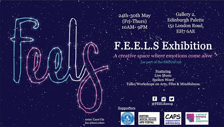 (SMHAF19)FEELS Exhibition:Break Free, Experience, Connect image