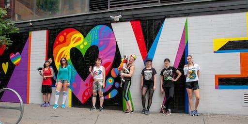 Runstreet Pride 5K Art Run
