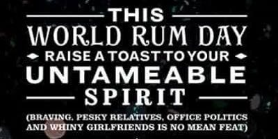 World Rum Day - Rum Tasting £9.05