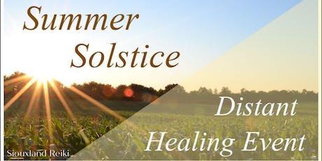 Summer Solstice - Distant Healing Event tickets