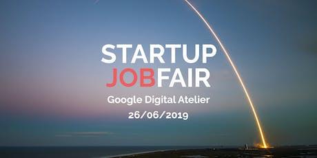 Startup Jobfair // June 2019 billets