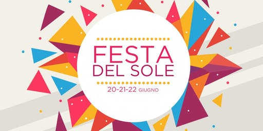 FESTA DEL SOLE - tre giorni di musica arte e letteratura