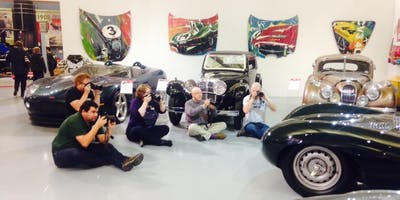 Car Photography Home Studio Workshop - Autumn