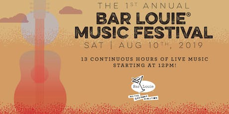 Bar Louie Greece Ridge Music Festival tickets