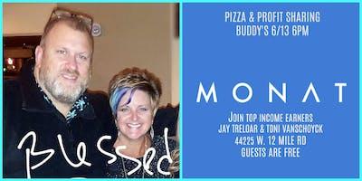 Pizza & Possibilities Monat Style w/ Toni & Jay