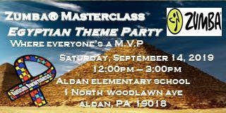 ZUMBA Master Egyptian Theme Fundraiser