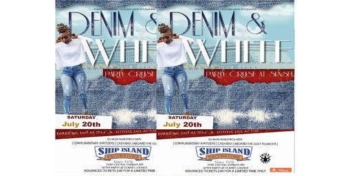 Denim & White Sunset Party Cruise