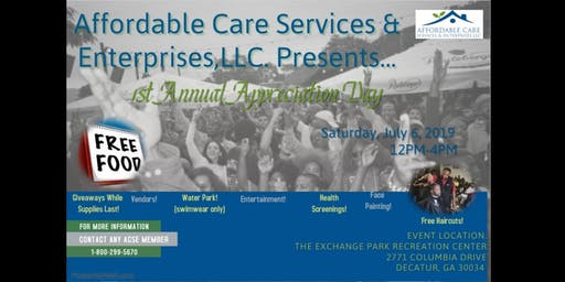 ACSE's First Annual Community Appreciation Day