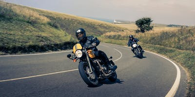 Triumph Street Cup Test Ride