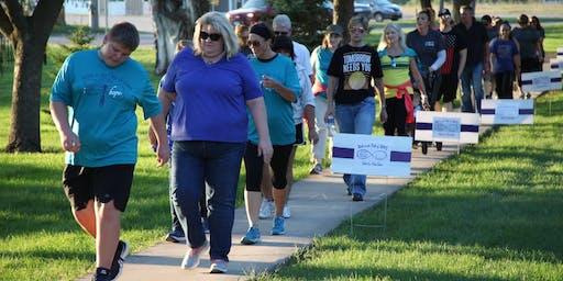 2019 Glacial Lakes SAFE Suicide Awareness 5K Walk/Run Event