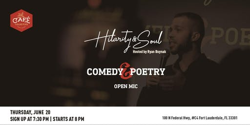 Hilarity & Soul - Comedy and Poetry Open Mic