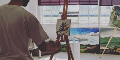 The Useful Art Class - Introduction to Landscape Oil Painting Workshop