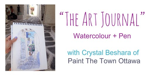 Crystal Beshara Workshop: Art Journaling