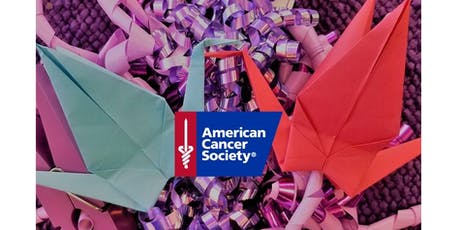 Show Cancer Patients Your Support - Make Paper Cranes! tickets