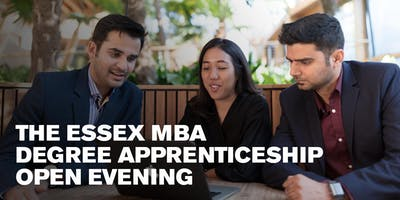 The Essex MBA Degree Apprenticeship Open Evening